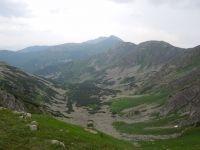 Pohled z Chopku do údolí