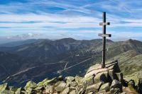 Ďumbier - vrcholový kříž