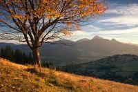 Podzim nad Zázrivou