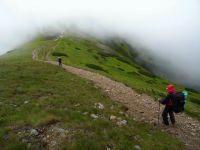 Cesta do mlhy - Nízké Tatry.