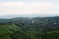 výhľad na čásť Spiše a Gemer 9.7.2010