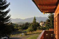 Západné Tatry z terasy