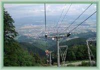 Pohled z lanovky
