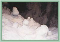 Horná Túfna - výzdoba jeskyně