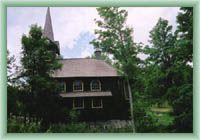 Javorina - Dřevěný kostel