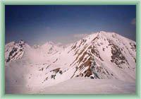 Volovec - zimní pohled